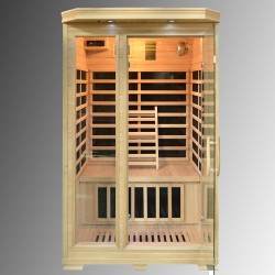 Infrarød badstue IB1002 120×120×190cm
