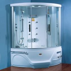 Steamdusj med boblebad SH1005 130×130×218 cm