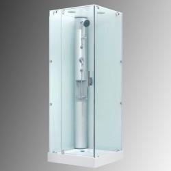 Dusjkabinett uten strømtilkobling DRH1001 80x80x212 cm
