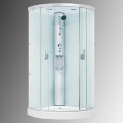 Dusjkabinett uten strømtilkobling DRS1003 100x100x212 cm