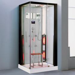 Steamdusj med IR-sauna K081 100x100x215 cm
