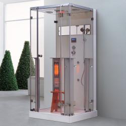Steamdusj med IR-sauna K066 100x90x215 cm