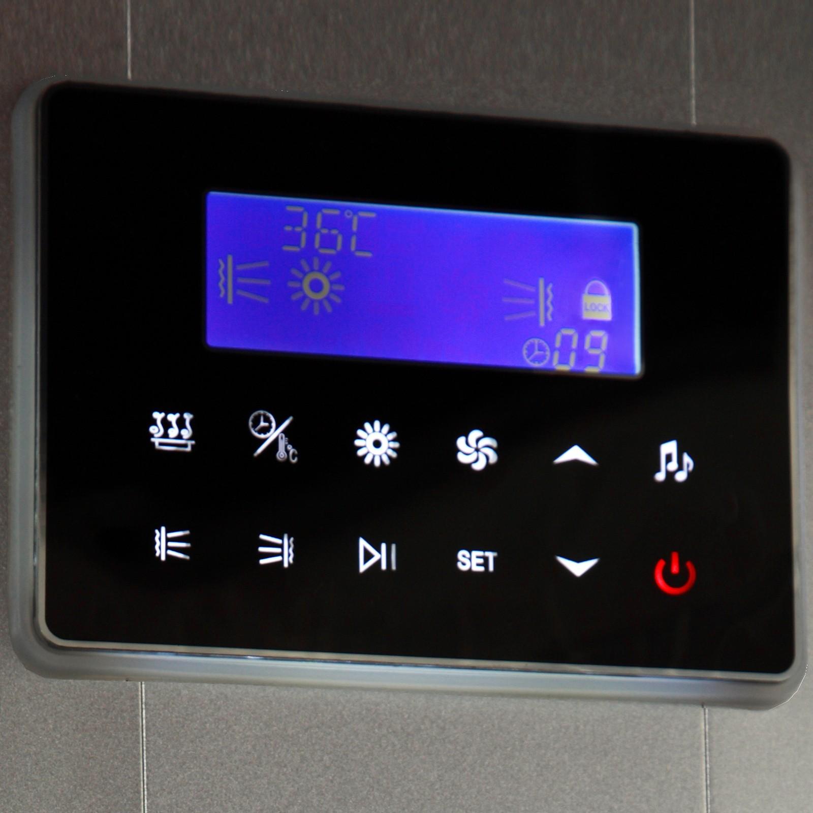 Steamdusj med IR sauna K022
